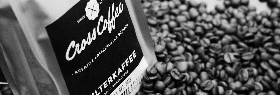 Kaffeepackung für Online-Shop