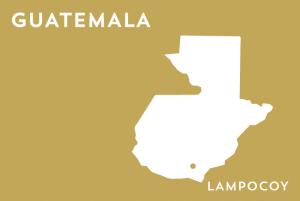 Landkarte von Lampocoy Guatemala