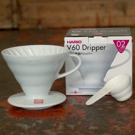 Hario V60 Filter, Größe 2, Porzellan   Zubehör, der Cross Coffee Kaffeerösterei aus Bremen
