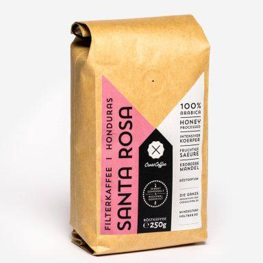 Produktbild Santa Rosa Filterkaffee, Spezialitätenkaffee (specialty coffee)der Kaffeerösterei Cross Coffee aus Bremen