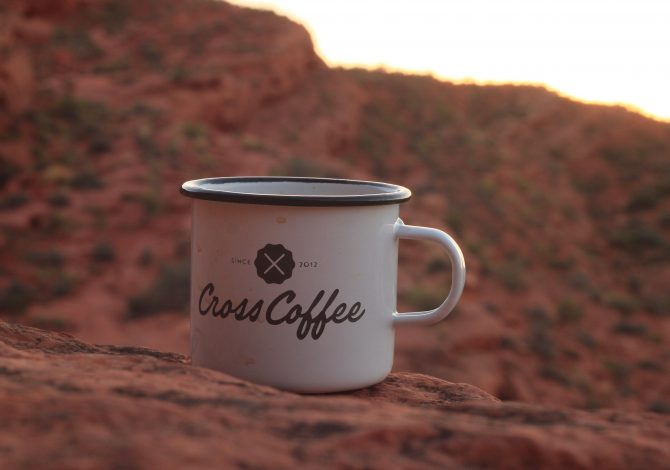 Cross Coffee Travel-Mug am Grand Canyon