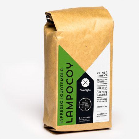 Produktfoto Lampocoy Espresso aus Guatemala