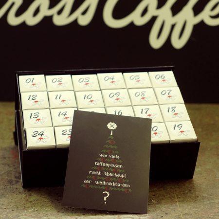 Der Cross Coffee Adventskalender