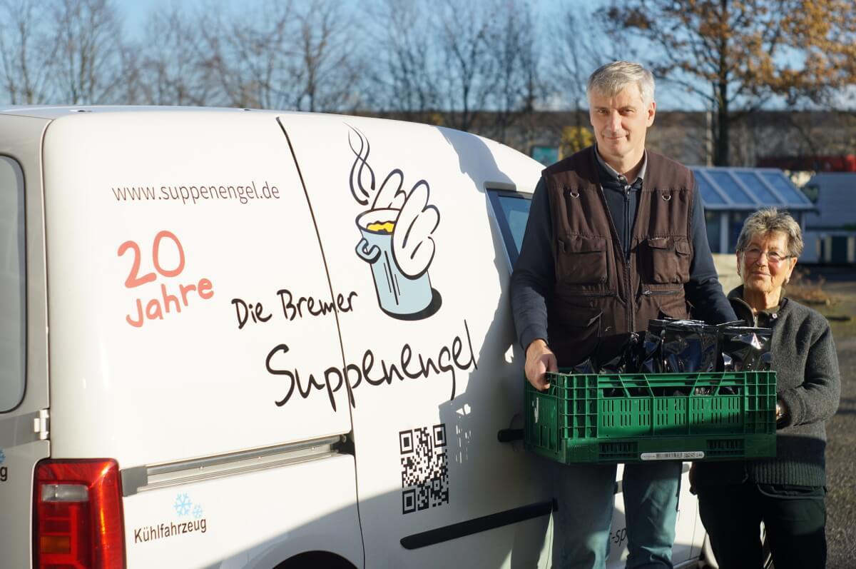 #SozialKaffee: Die Bremer Suppenengel zu Gast bei Cross Coffee