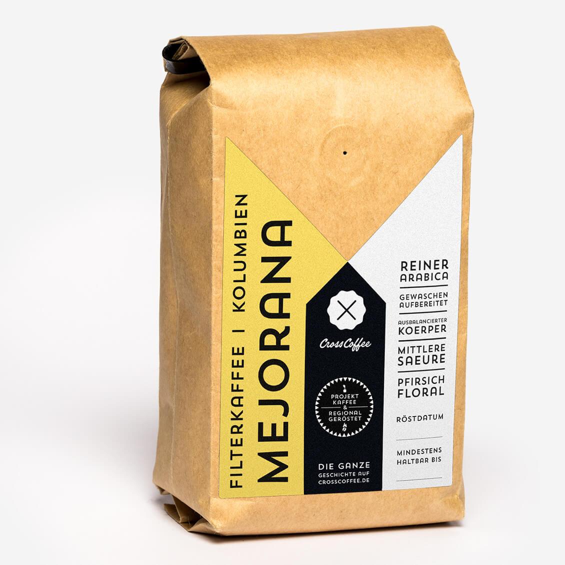 Produktbild La MEJORANA Filterkaffee, Spezialitätenkaffee (specialty coffee)der Kaffeerösterei Cross Coffee aus BremenCross Coffee -