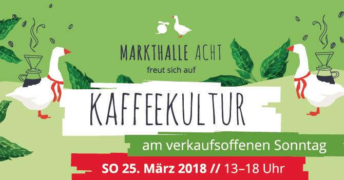 Kaffeekultur in der Markthalle Acht, Bremen mit Cross Coffee
