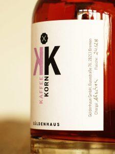 Closeup Kaffeekorn: Co-Produktion von Güldenhaus und der Kaffeerösterei Corrss Coffee. Kiganjo Filterkaffee