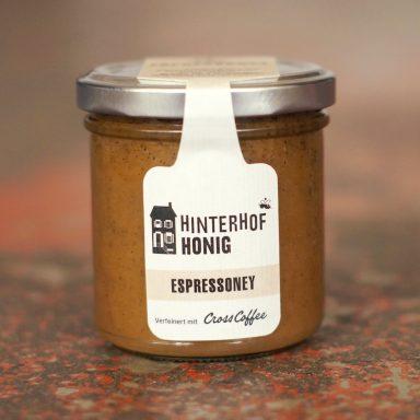 Espressoney | Honig mit TOBA Espresso aus Sumatra | Cross Over-Produkt von Cross Coffee und Hinterhofhonig