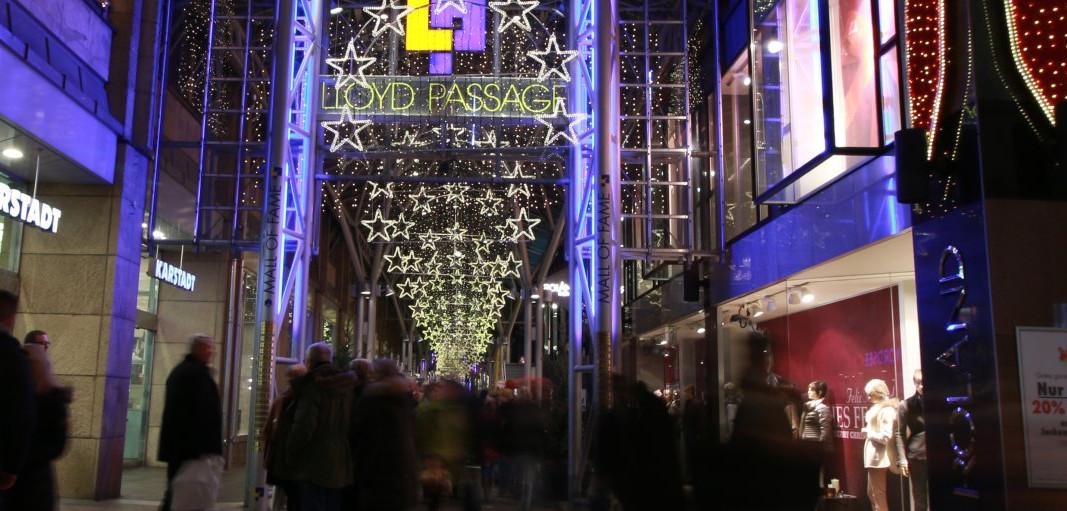 Cross Coffee beim skandinavischen Weihnachtsmarkt in der Lloyed Passage